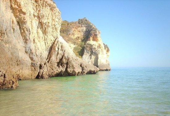 Praia de Alvor: praia dos tres irmaos