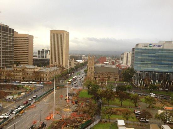Hilton Adelaide: window view