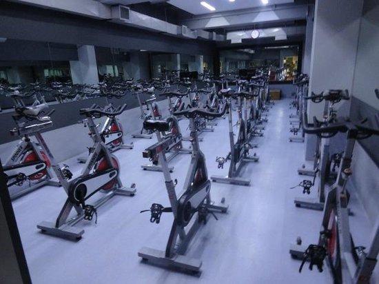El Pardo DoubleTree by Hilton Hotel: Gym Spinning room