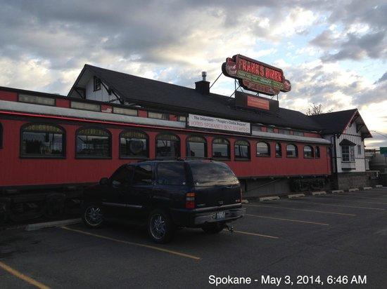 Frank's Diner in downtown Spokane