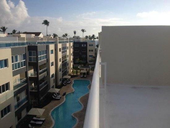 Presidential Suites - Punta Cana: view from rooftop patio, a short walk to the beach