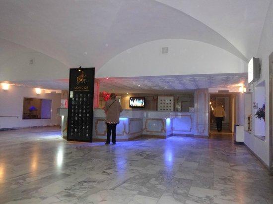 Hotel Movie Gate: hall d'accueil