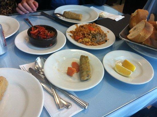 Kanaat Lokantasi : Traditional Turkish food