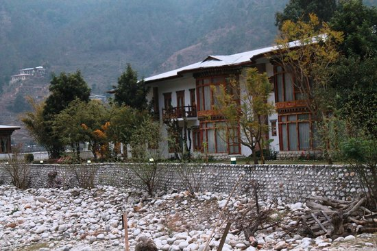 Image result for damchen resort punakha