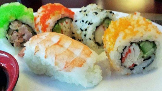 Den Kinesiske Mur: Sushi