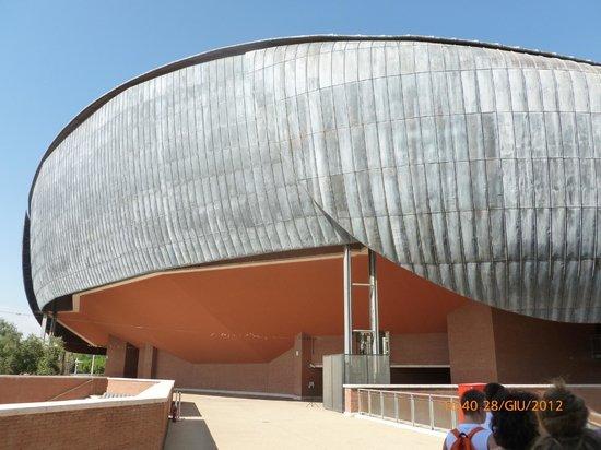 Auditorium - Parco della Musica: Esterno di una sala per concerti