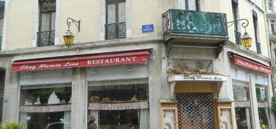 Chez Mamie Lise : Il ristorante