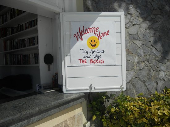 Grand Bahia Principe Cayacoa : The lovely sign upon our arrival