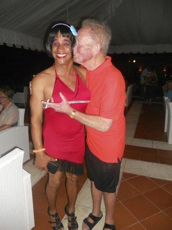 "Grand Bahia Principe Cayacoa : Tony & ""The Crazy Luis."""