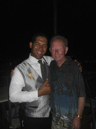 Grand Bahia Principe Cayacoa : Myself and Claudio.