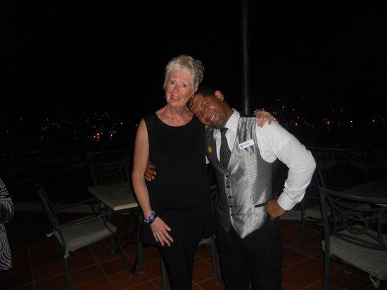 Grand Bahia Principe Cayacoa : The always smiling Claudio with Joan