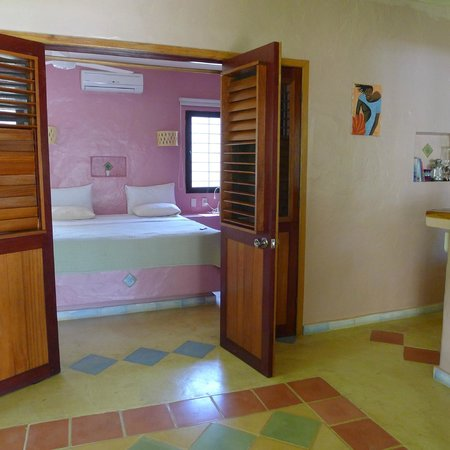 Villa Eva Luna : taken in the leaving room and kitchen, view of the bedroom