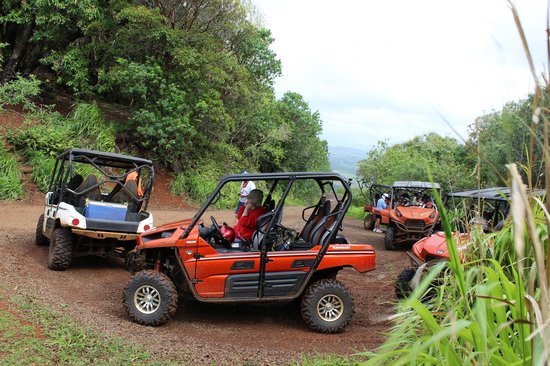 Kipu Ranch Adventures : Top of the hill for the turn around