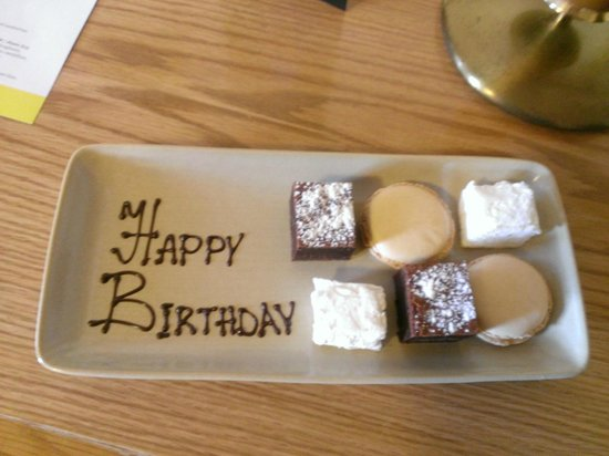 Royal Berkshire Hotel: A lovely birthday extra