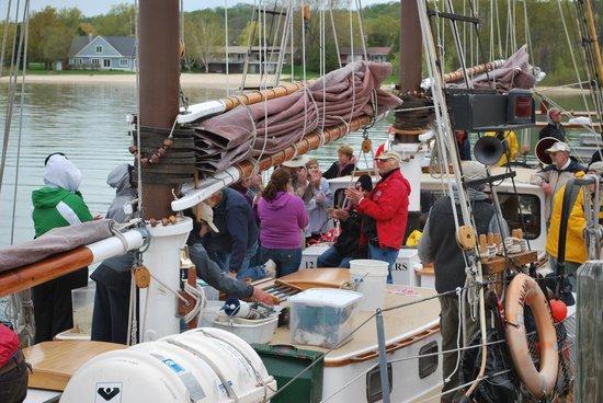 Inland Seas Education Association: Aboard The Schooner Inland Seas
