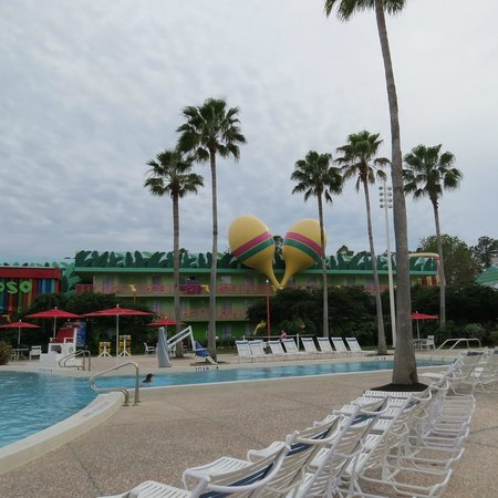 Disney's All-Star Music Resort: lindo