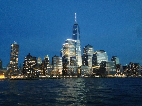Bateaux New York: Amazing view during the dinner