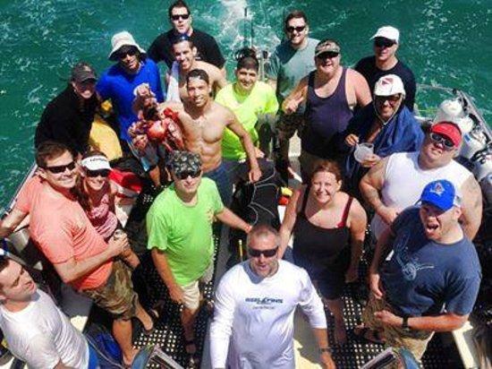 Jupiter Scuba Diving: Capt Sl8r After Dive Pic