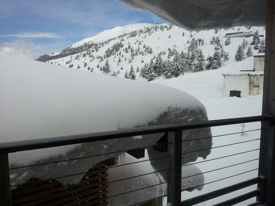 Grand Hotel Paradiso: View from one of the windows