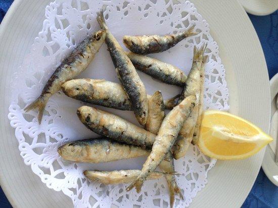 Restaurante El Risco: Sardinitas, poco hechas, sin maltratarlas ni destrozarlas