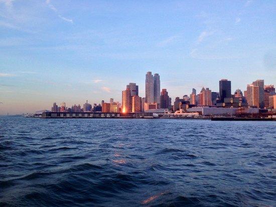 Bateaux New York: View during the bateaux tour 1