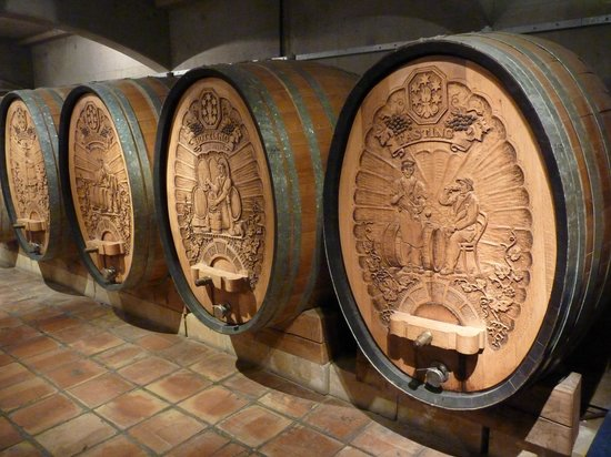 Denbies Wine Estate: wine casks