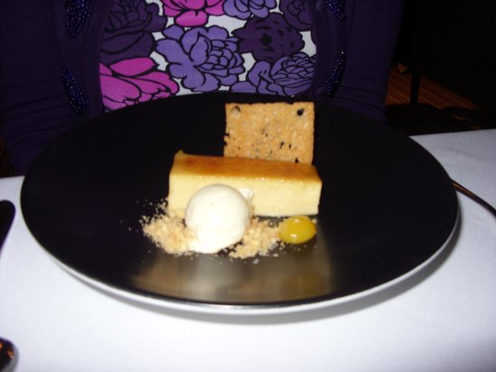 The Manor House Hotel: Dessert