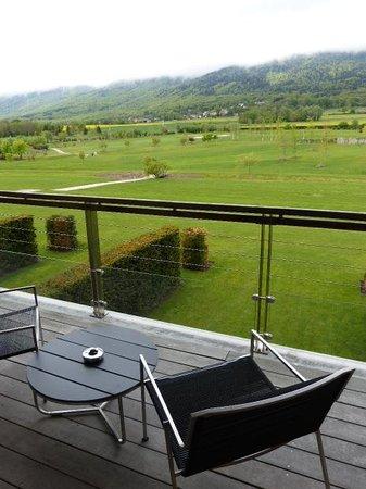 Jiva Hill Resort : Balcon