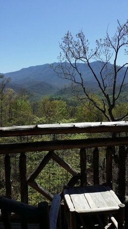 The Lodge at Buckberry Creek: What a wonderful view!