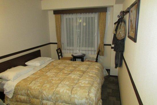 Toyoko Inn Kyoto Gojo-Omiya: Our room
