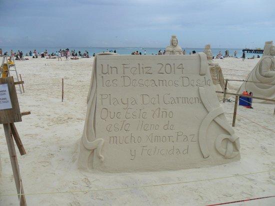 TRS Yucatan Hotel: Strand Playa de Carmen