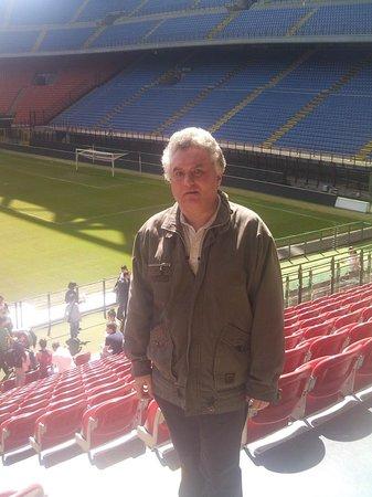 Stadio Giuseppe Meazza (San Siro) : На трибуне