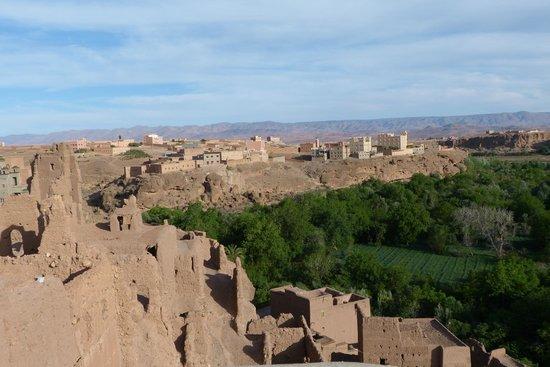 Assafar Kasbah and Trekking : Vue de la terrasse