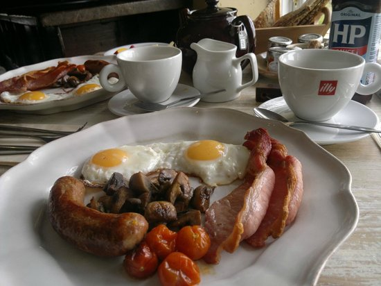 The Cartford Inn: Breakfast