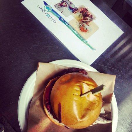 Lino Fritto : Hamburger al tonno