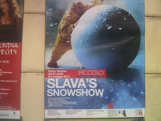 Teatro Studio del Piccolo Teatro: Афиша