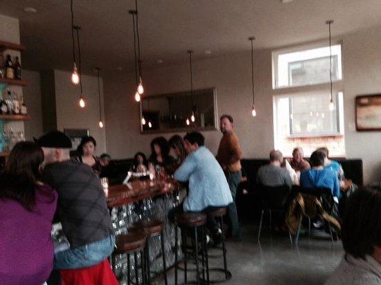 Blackbird Restaurant : View from entryway