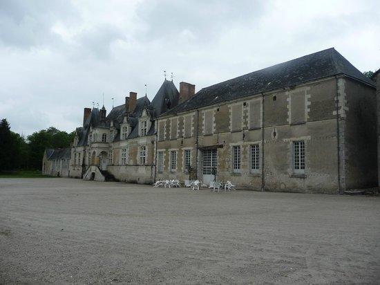 Château de Villesavin côté jardin