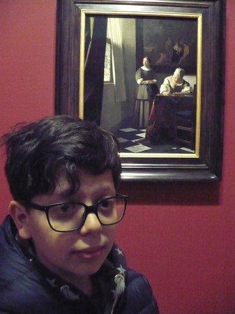 Galería Nacional de Irlanda en Merrion Square: Vermeer. Donna che scrive una lettera 1670