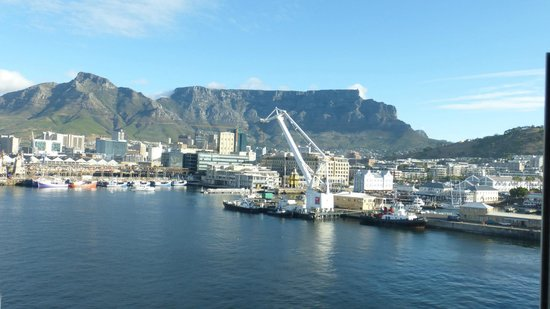 The Table Bay Hotel: View from hotel room