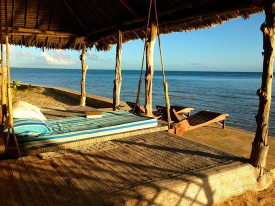 Manda Bay: Cottage #02 leisure area