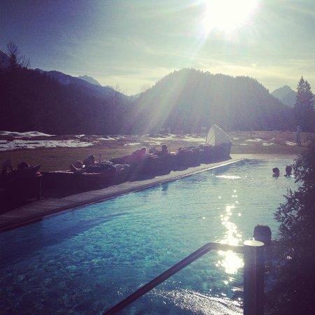 Schloss Elmau - Luxury Spa & Cultural Hideaway: Traumhafte Aussicht