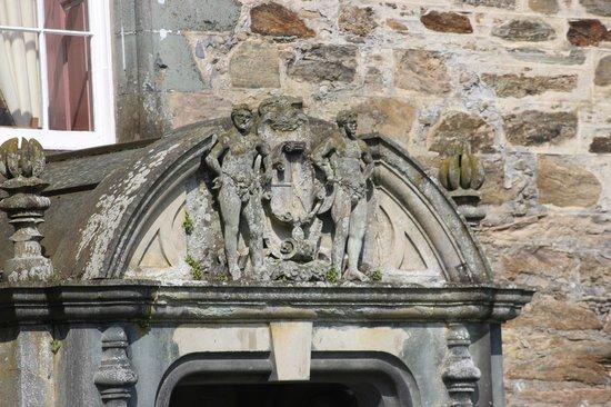 Castle Menzies: entrance
