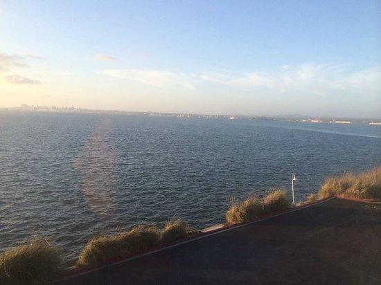 Loews Coronado Bay Resort: Outside on the Marina Deck