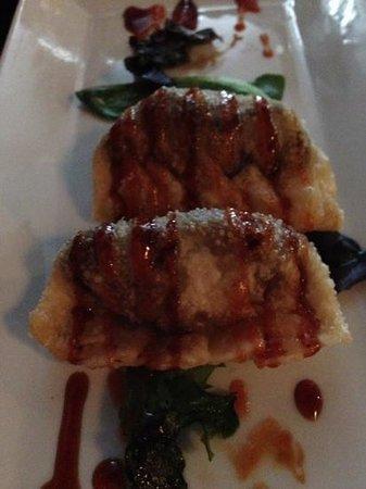 W SUSHI BAR: Dumplings!