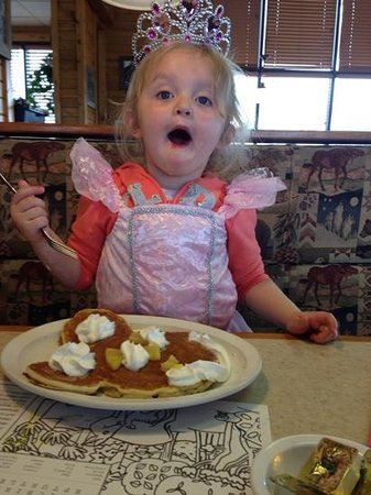 Friendship House Family Restaurant: princess approved mickey pancake