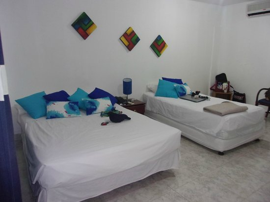 On Vacation Coral Flower : habitacion