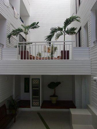 On Vacation Coral Flower: sala de estar