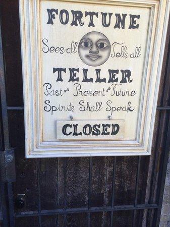 Museum of The Weird : Johnny Depp's apartment door