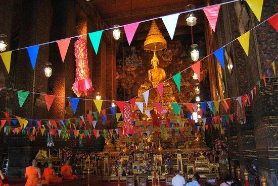 Wat Pho (Templo de Buda reclinado): ...
